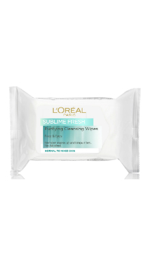 Șervețele demachiante Sublime Fresh - L'oreal Paris