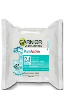 Șervețele umede Pure Active 2in1 - Garnier