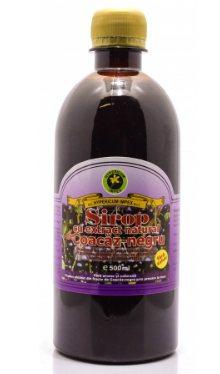 Sirop de coacăz negru, fără zahăr - Hypericum