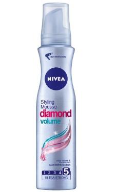 Spumă de păr Diamond Volume - Nivea
