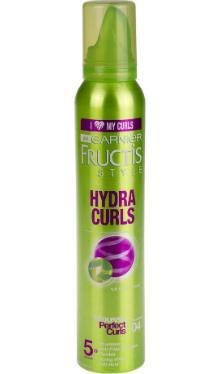Spumă de păr Fructis Hydra Curls - Garnier