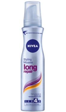 Spumă de păr Long Repair - Nivea