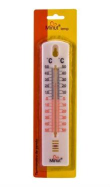 Termometru cameră suport plastic - Minut