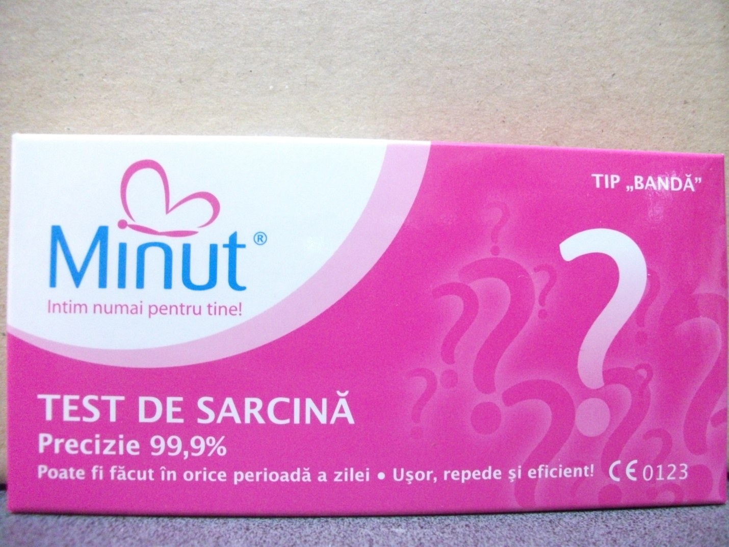 Test de sarcina MINUT tip Banda