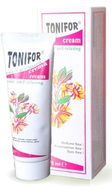 Tonifor, cremă tonică și relaxantă - Mebra