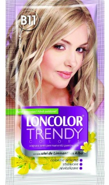 Vopsea de păr semipermanentă Trendy Colors B11 Blond Metal - Loncolor