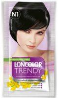 Vopsea de păr semipermanentă Trendy Colors N1 Negru Chillout - Loncolor