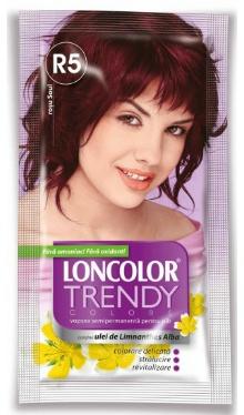 Vopsea de păr semipermanentă Trendy Colors R5 Roșu Soul - Loncolor