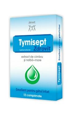 Comprimate tymisept x - Zdrovit