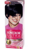 Vopsea de păr Ultra 1.2 Negru Albastru - Loncolor