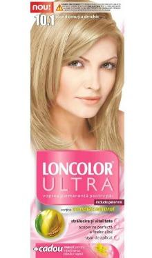 Vopsea de păr Ultra 10.1 Blond Cenușiu Deschis - Loncolor