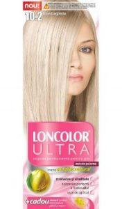 Vopsea de păr Ultra 10.2 Blond Argintiu - Loncolor