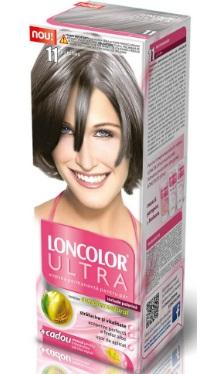Vopsea de păr Ultra 11 Gri Reflex - Loncolor