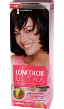 Vopsea de păr Ultra 3 Castaniu Închis - Loncolor