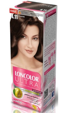 Vopsea de păr Ultra 4.11 Ciocolată - Loncolor
