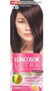 Vopsea de păr Ultra 4.15 Ciocolată Amăruie - Loncolor