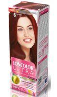 Vopsea de păr Ultra 6 Roșu Tițian - Loncolor