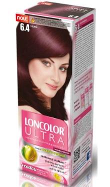 Vopsea de păr Ultra 6.4 Vișină - Loncolor