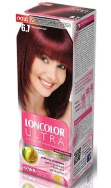 Vopsea de păr Ultra 6.7 Roșu Pasional - Loncolor