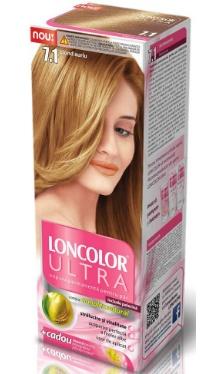 Vopsea de păr Ultra 7.1 Blond Auriu - Loncolor