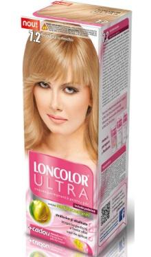 Vopsea de păr Ultra 7.2 Blond Auriu Deschis - Loncolor