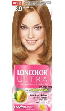Vopsea de păr Ultra 8.9 Blond Închis - Loncolor
