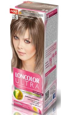 Vopsea de păr Ultra 9.9 Blond Cenușiu Închis - Loncolor