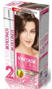 Vopsea de păr Ultra Max 4.11 Ciocolată - Loncolor
