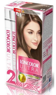 Vopsea de păr Ultra Max 4.8 Alună - Loncolor