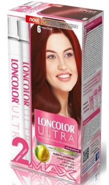 Vopsea de păr Ultra Max 6 Roșu Tițian - Loncolor