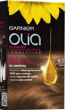 Vopsea de păr Olia 6.3 Gold Light - Garnier