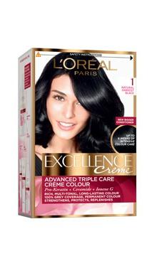 Vopsea de păr Excellence Creme 1 - L'Oreal