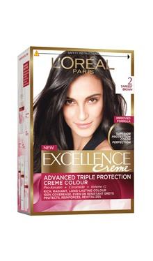 Vopsea de păr Excellence Creme 2 - L'Oreal