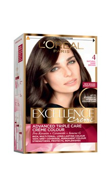 Vopsea de păr Excellence Creme 4 - L'Oreal