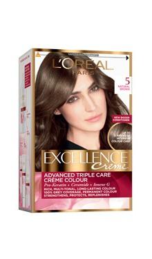 Vopsea de păr Excellence Creme 5 - L'Oreal