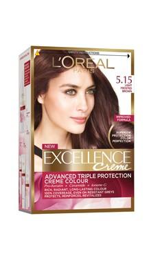 Vopsea de păr Excellence Creme 5.15 - L'Oreal