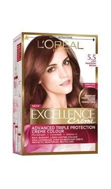 Vopsea de păr Excellence Creme 5.5 - L'Oreal