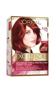 Vopsea de păr Excellence Creme 6.66 - L'Oreal