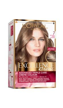 Vopsea de păr Excellence Creme 7 - L'Oreal