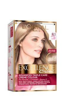 Vopsea de păr Excellence Creme 8.1 - L'Oreal
