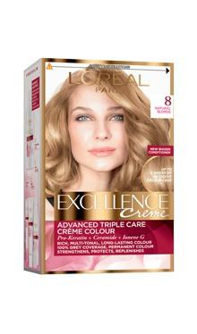 Vopsea de păr Excellence Creme 8 - L'Oreal