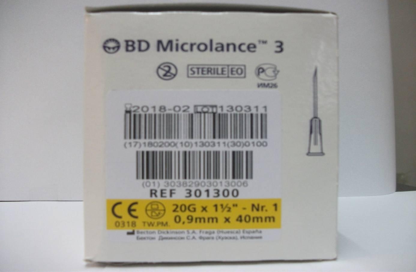 ACE 0,9 mm X 40 mm