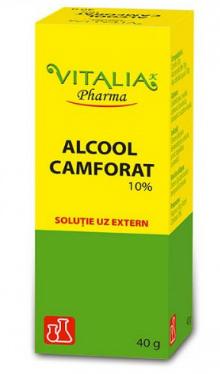 Alcool camforat 1%