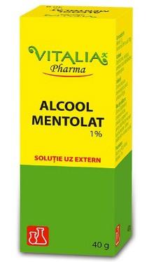 Alcool mentolat 1% - Vitalia