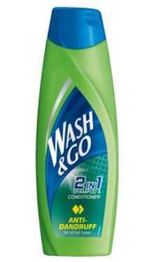 Şampon de păr Anti-Mătreaţă - Wash & Go