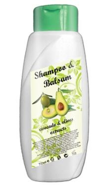 Şampon şi balsam Avocado şi Măsline