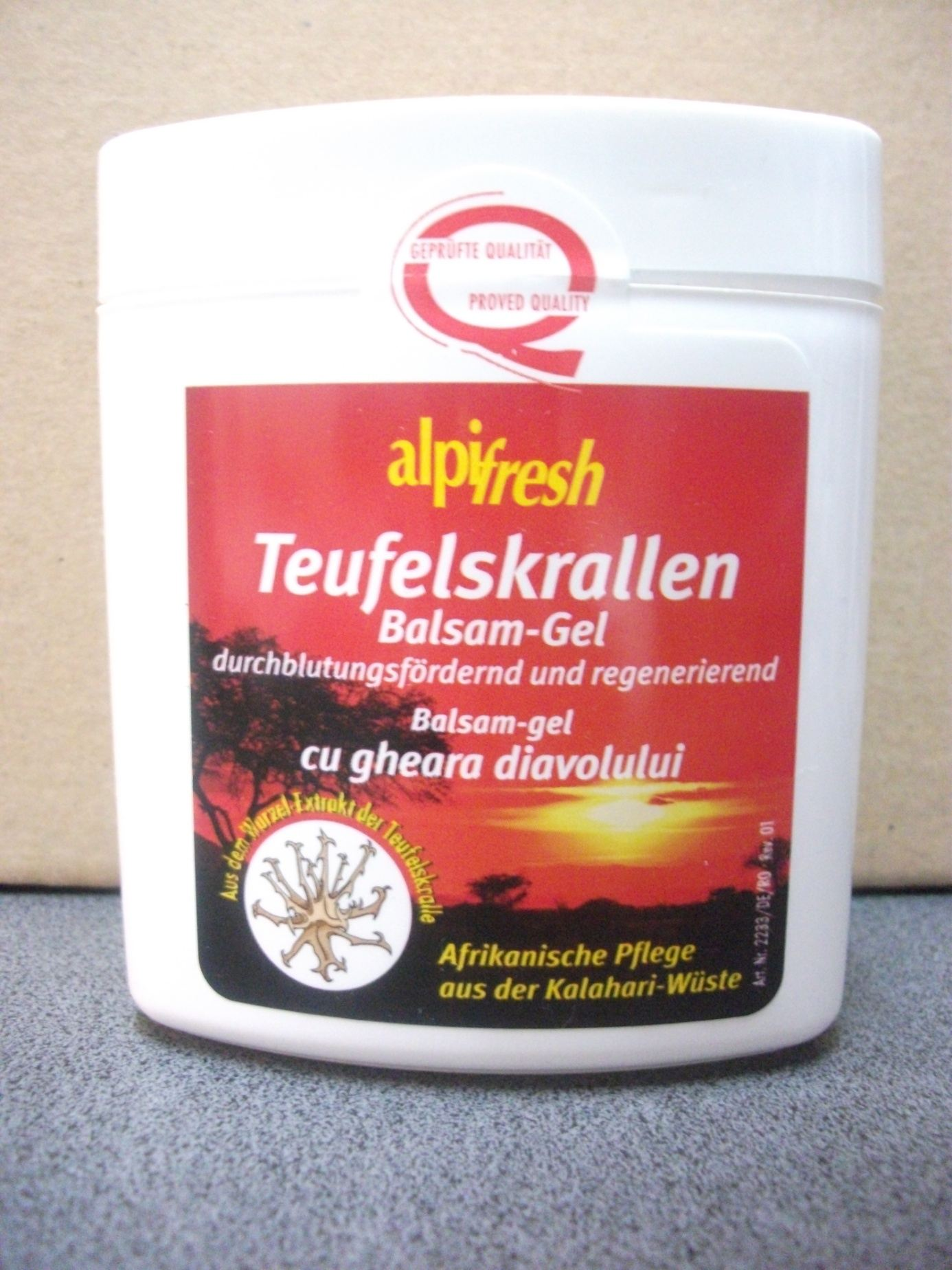 Balsam gel gheara diavolului - Alpifresh