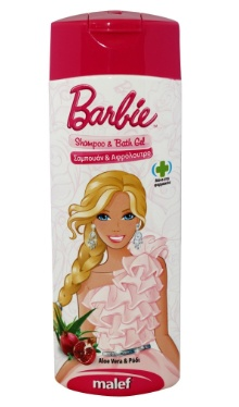 Gel de duş Princess Barbie - Disney
