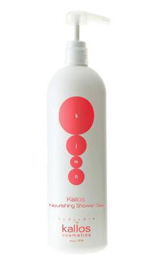 Cremă de duş hidratantă cu parfum de argan - Kallos KJMN