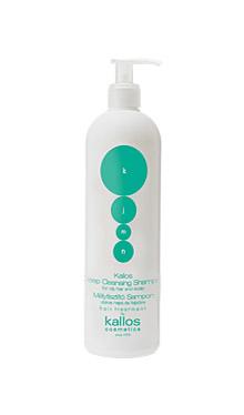 Şampon pentru păr gras şi pielea capului - Kallos KJMN